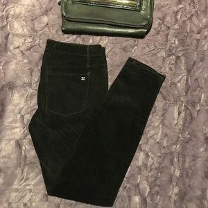 Joe's Jeans Chelsea Ankle Black Corduroy Pants